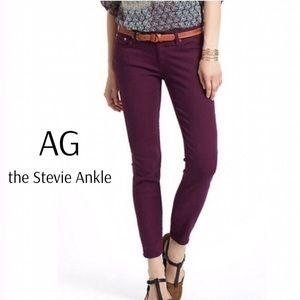 AG the Stevie Ankle Slim Straight Leg